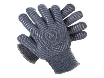 Grill Armor Extreme Heat Resistant Oven Gloves - EN407 Certified 932F