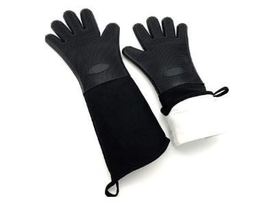 Long Oven Gloves,Kitchen Gloves Heat Resistant, Cooking, Baking, Grilling, Oven Mitts Heavy Duty (19.7