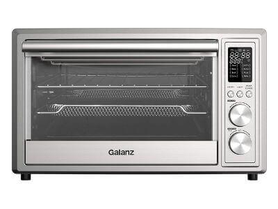 Galanz GT12SSDAN18 Toaster Oven with TotalFry 360 (Enhanced Air Fry Technology) 1800W/120V