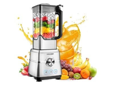 Blender Smoothie Maker, COOCHEER 1800W Blender for Shakes and Smoothies