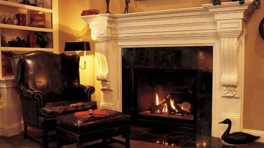 how to start a fire in a fireplace
